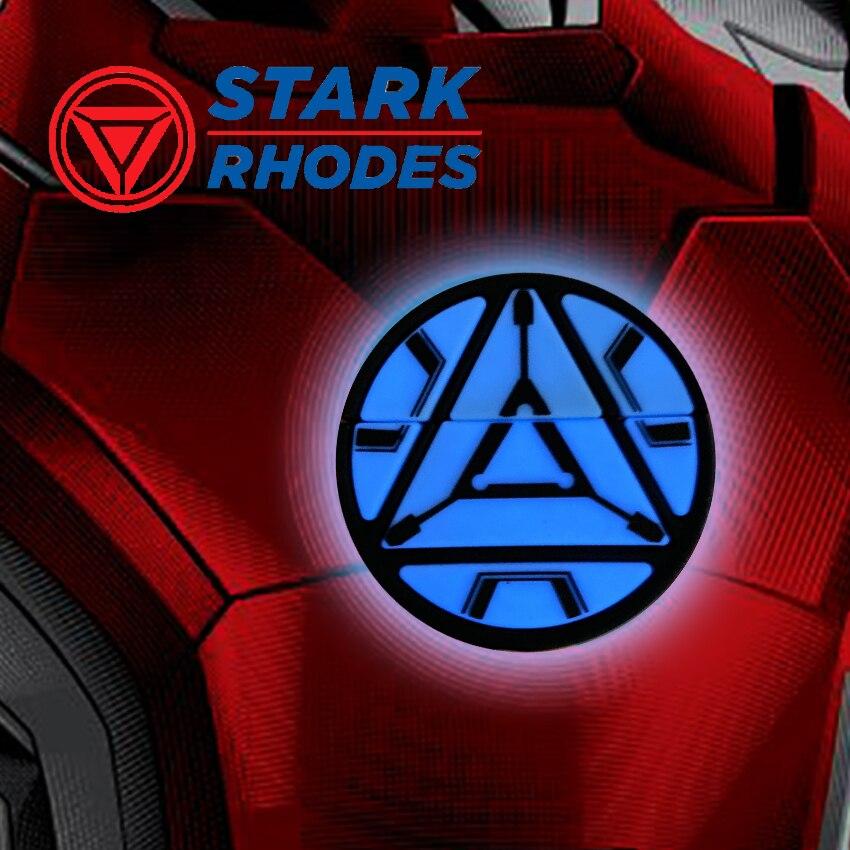 Para AirPod 1 2 carcasa resistente Iron Man Reactor 3D de dibujos animados lindo fundas de silicona blanda para los Airpods caso cubierta de Funda