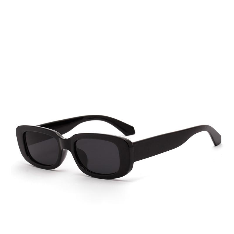 Nova moda curto caixa de óculos de sol feminino retro leopardo pequenos óculos de sol masculino uv400 vidro