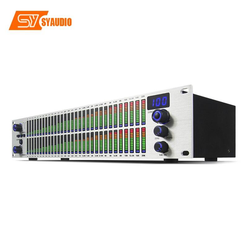 Q-312 professional audio system Standard 2U thin and light rack Digital equalizer enlarge