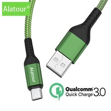 5A 1m 2m USB Type C Cable Micro USB Fast Charging Mobile Phone shark Android Charger  Data Cord For