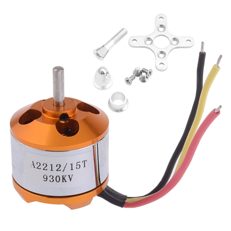 1pcs f450b kv3000 brushless motor 3 4s lipo outer rotor brushless motors for rc electric speed boat jet boats spare parts Mini Electric Engine Motor Toy Accessories for Kid's RC Multirotor Spare Part Brushless Motor A2212 Replaceable Motor