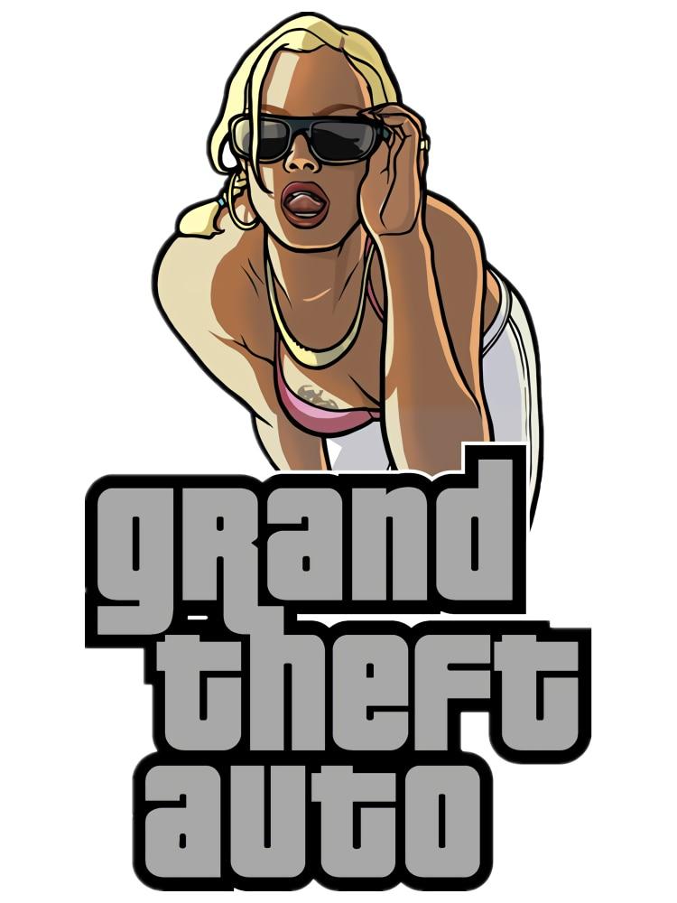 GTA Grand Theft Auto SAN ANDREAS Logo Vinyl Car Stickers for Children's Room Sticker Waterproof Exterior Car Accessories PVC13cm