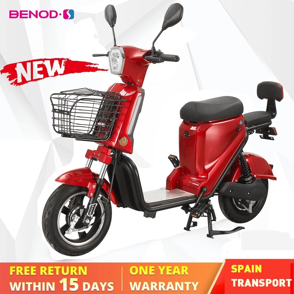 BENOD-دراجة كهربائية للبالغين ، 25 كم/ساعة ، دراجة بخارية