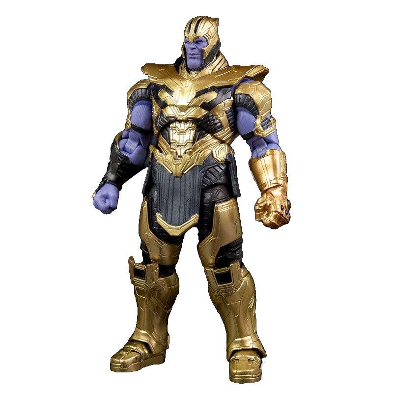 Marvel legendgame vingadores thanos 2nd geração figura de ação modelo de filme conjunta móvel boneca estátua coleção brinquedos figma