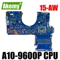 856269 001 for hp pavillion 15 aw 856269 601 dag54amb6d0 am960p ddr3 notebook motherboard mainboard full test 100 work