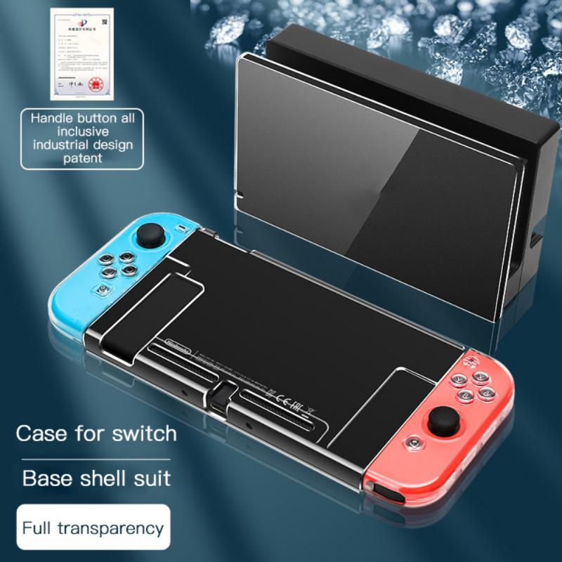 Мягкий защитный чехол из ТПУ для Nintendo Switch NS, чехол, оболочка, аксессуары для консоли, ультратонкий противоударный чехол от царапин чехол
