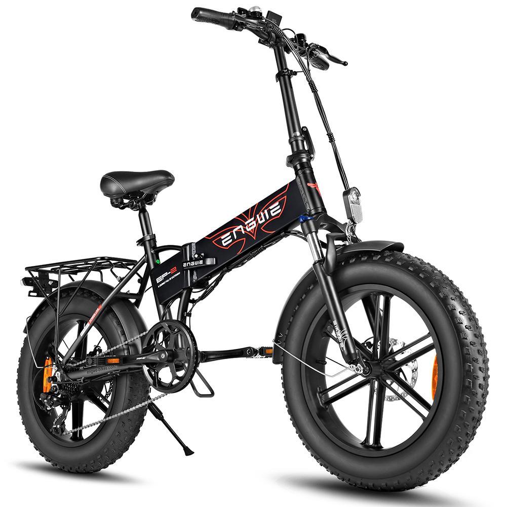 Bicicleta eléctrica de 500W, 20 pulgadas, Bicicleta de montaña con ruedas gruesas,...