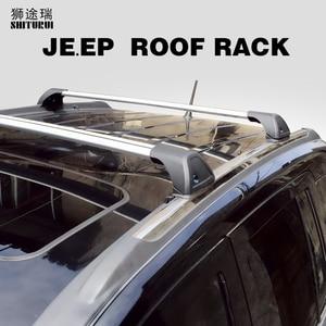 For JEEP Patriot Cherokee Grand Cherokee Compass Renegade Liberty WRANGLER 2 4-DR roof bar car special aluminum alloy belt lock