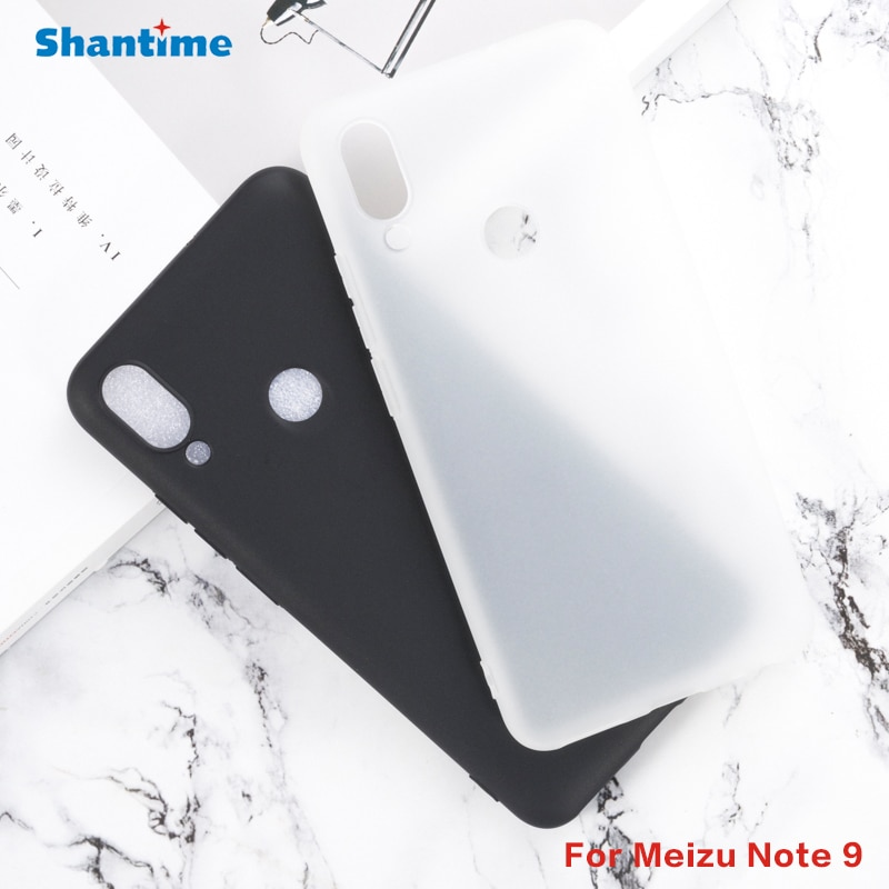 For Meizu Note 9 Gel Pudding Silicone Phone Protective Back Shell For Meizu Note 9 Soft TPU Case