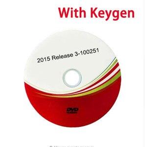 Image 4 - Новое поступление 2021, 2017.R3 с генератором ключей на DVD/Link программном обеспечении и видеоустановкой, поддержка 2017 моделей автомобилей и грузовиков для дельфиса