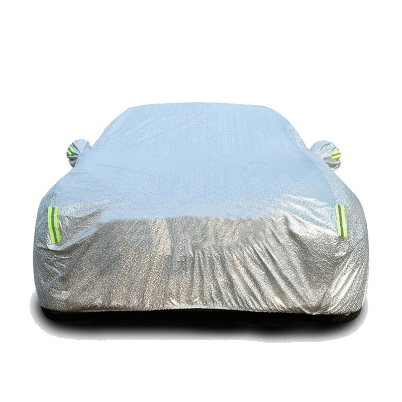 The hood is suitable for Audi A6LA4LA5Q3Q5Q7 four-season universal aluminum film sun-proof and rain-proof hood