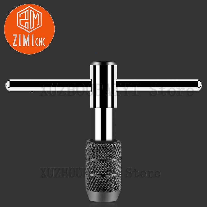 M3-M6 T-type tap wringer hand tapping wrench tap chuck wringer adjustable tap chucking wrench tapping device enlarge