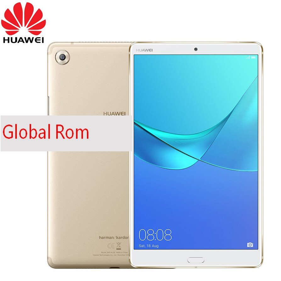 Cargadores de coche Huawei MediaPad M5 SHT-W09 Tablet PC Kirin 960 octa-core 4GB ram 64GB rom 8,4 pulgadas 2560*1600 IPS Android 8,0 WIFi GPS
