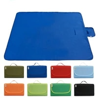 supply solid color foldable outdoor wear resistant oxford cloth camping moisture proof waterproof picnic mat