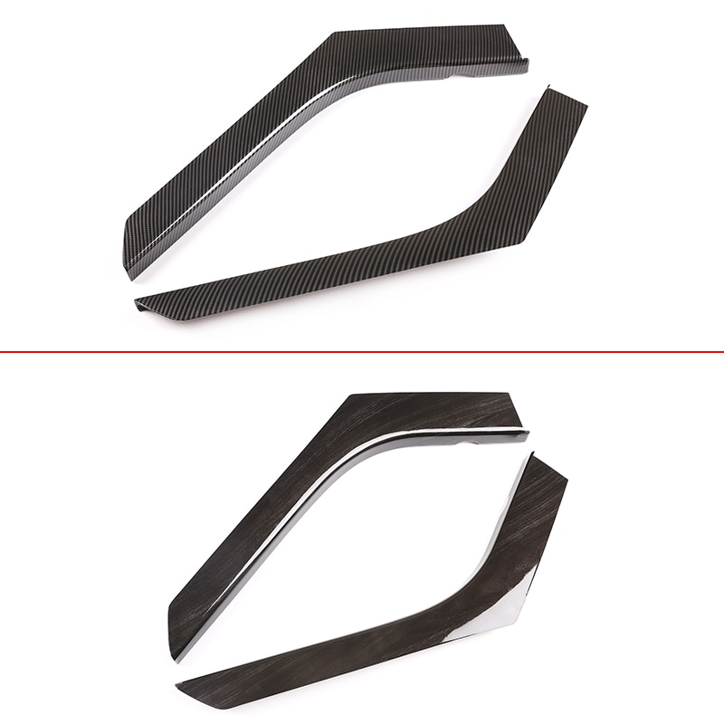 For Land Rover Range Rover Evoque 2012-2018 ABS Carbon Fiber Car Sticker Center Console Panel Side Trim Strips Cover Accessories enlarge
