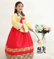 korea traditional hanbok dress for children hanbok dress stage dance copaly costume girls dress