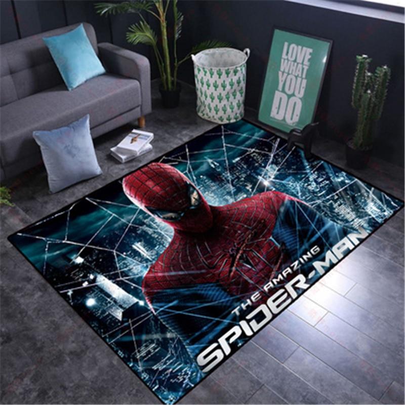 Cartoon 80x160CM Kids Play Mat  Washable Spiderman Carpet  for Living Room Washable   Floor Rug Carpet for Parlor Mat Bedroom 55x40 cm cartoon shiba inu carpet dog sleeping mat living room mat toy for bedroom