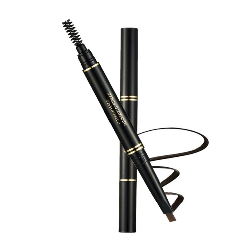 Прочный карандаш для бровей Music Rose Автоматическая кисть для бровей долговечная водостойкая косметика для бровей для женщин недорого