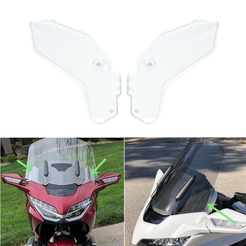 Solapa parabrisas motocicleta L & R para Honda Goldwing GL1800 2018-2019