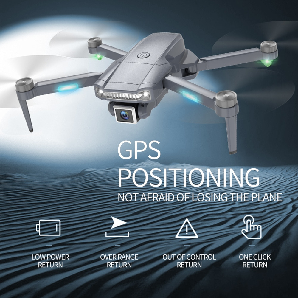 Mini GPS S179 Drone Dual Camera RC Quadcopter Foldable Aircraft Remote Control Brushless Helicopter enlarge