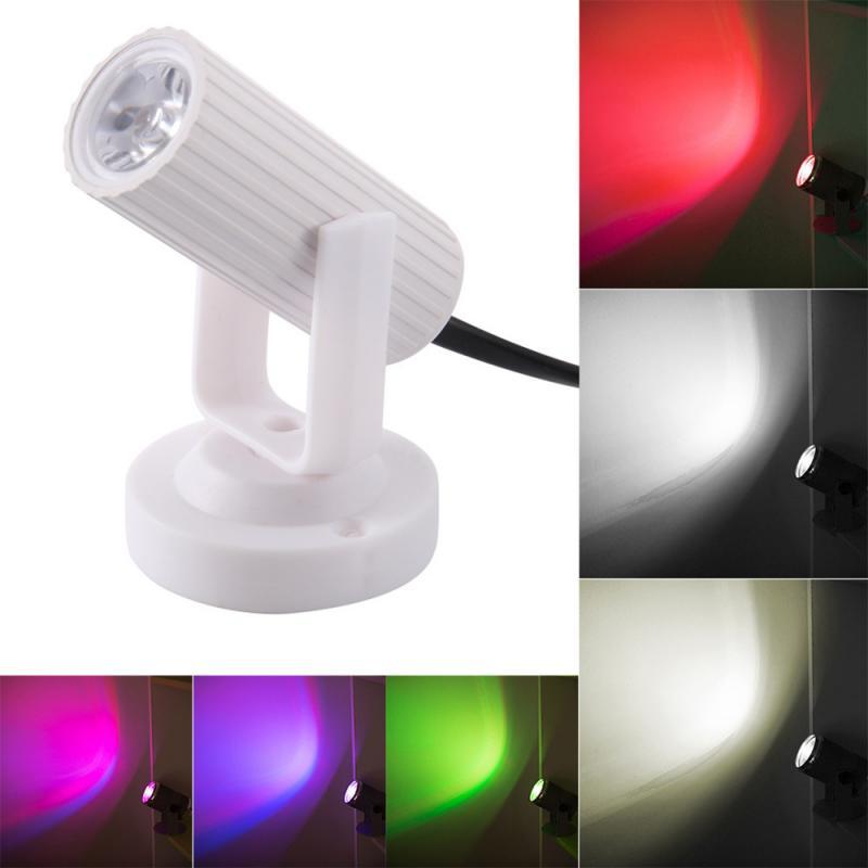 1 Вт Светодиодный красочный луч, точесветильник светильник, сверхъяркая лампа, зеркальные шарики, DJ-диско Эффект, сценический свет для KTV, DJ Home KTV