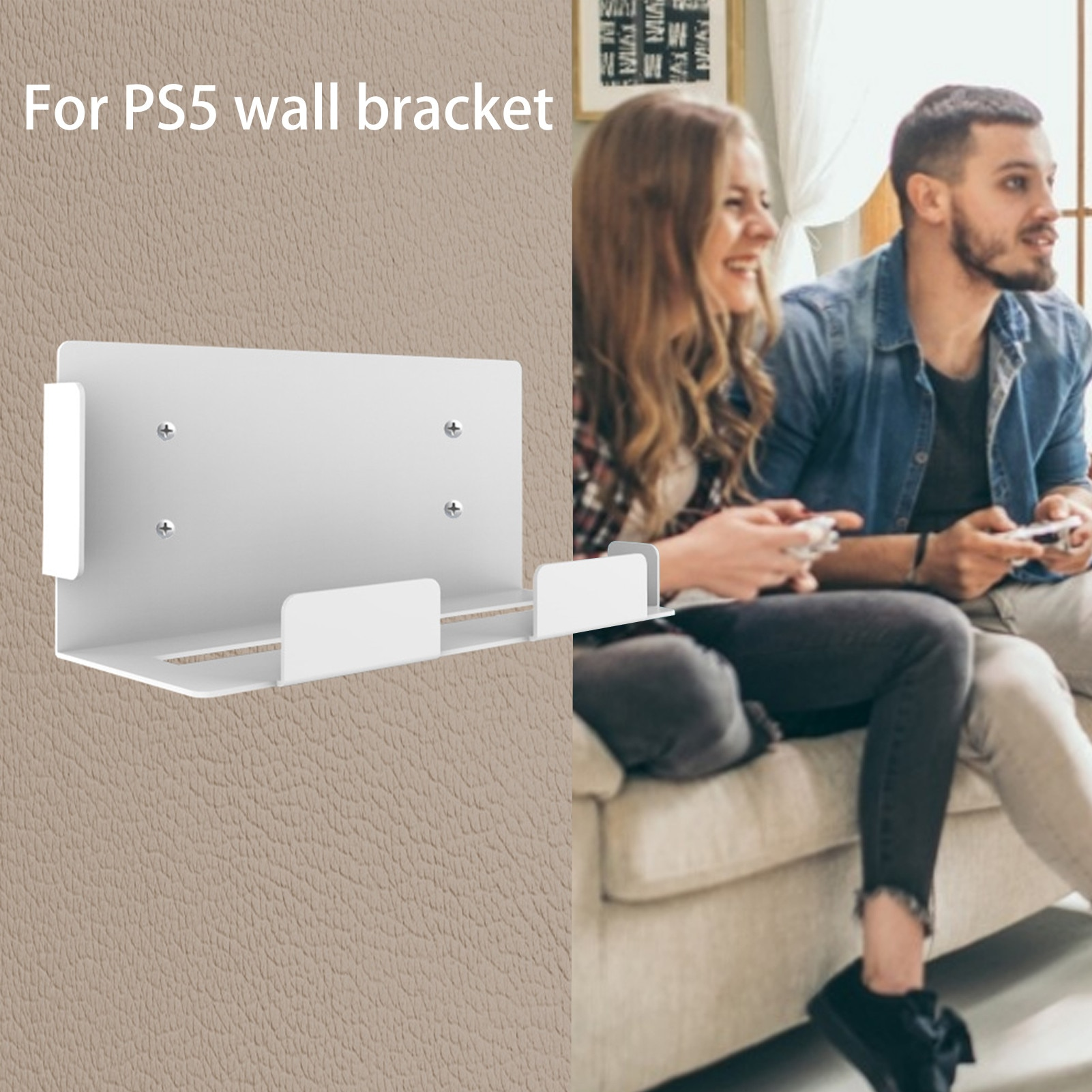 Hot Sale Game Console Mount Wall-hanging Stable Bracket For PS5 Wall Mount Full Motion Tilt PS5 Console Bracket Game Accessories