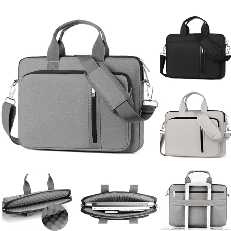 Laptop bag Sleeve Case Briefcase Shoulder Handbag Notebook Cover For 11 13 14 15.6 17 inch Macbook Air ASUS Acer Lenovo Dell HP
