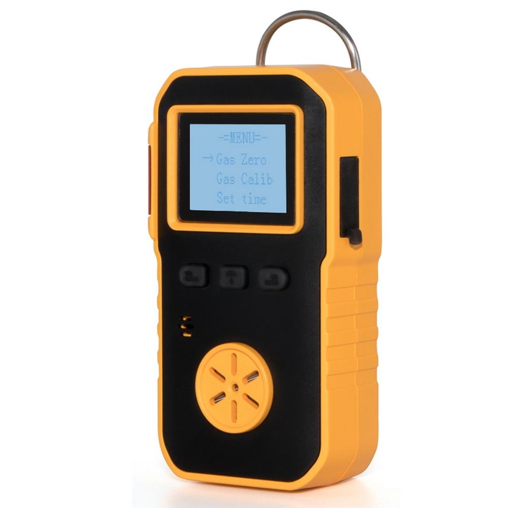 O3 Detector de Gas ozono Monitor profesional de fugas de Gas con alarma de choque de luz de sonido Digital O3 medidor Analizador de Gas de aire probador de Sensor