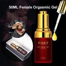 50ml Gel orgasme Libido rehausseur sexe Spray vagin Stimulant Intense sexe gouttes pour les femmes Exciter sexe aphrodisiaque Stimulant Gel