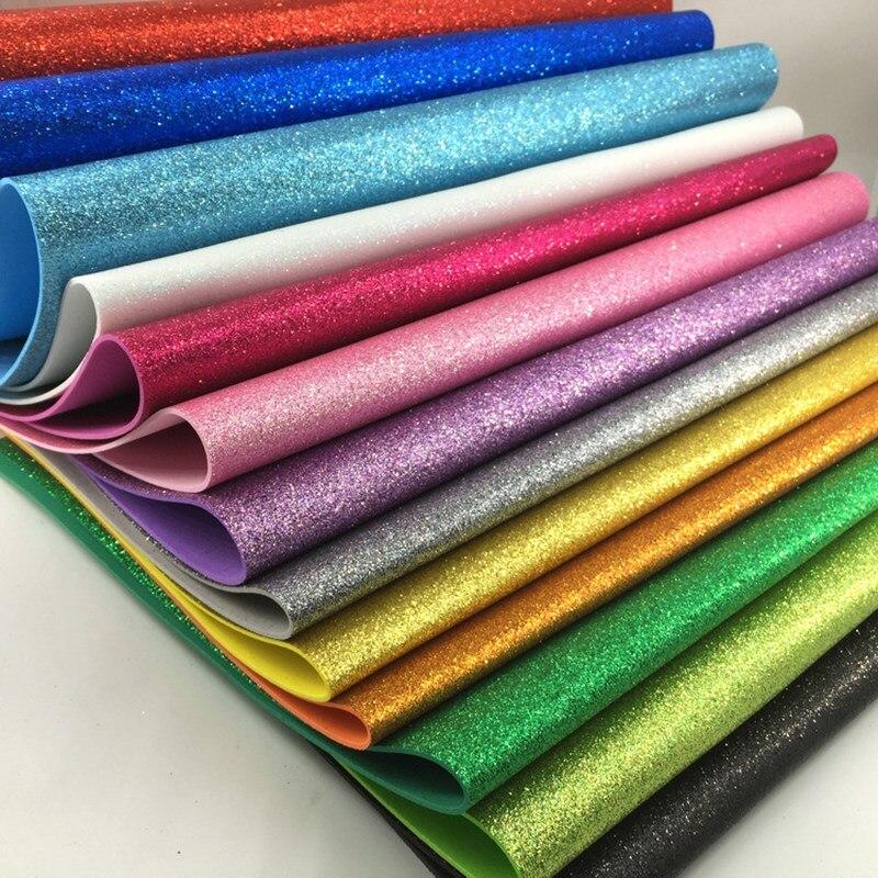 40*60CM EVA papier mousse à la main feuilles de mousse papier éponge bricolage artisanat matériaux multicolore fleur accessoire fête papier de noël