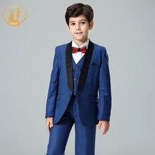 Costume bleu Nimble pour garçons   Costume Garcon pour Mariage, Blazer pour garçons, Costume de Mariage pour garçons, ensemble de 3 pièces