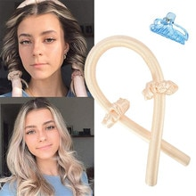 Heatless Curls Rod Hair Waves Hair Rollers Accessories Without Heat DIY Hair Styling Tools Rollers f