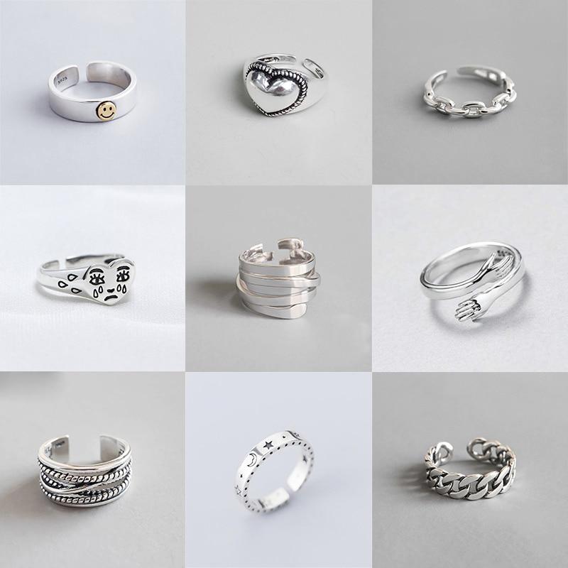 xiyanike-925-пробы-серебряные-винтажные-Открытые-Кольца-для-вечеринки-в-подарок-на-день-рождения