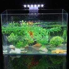Hot Sale 5W LED Waterproof Aquarium Lamp for Fish Tank Aquatic Plants Grow Clip-On Lighting Light Fish Supplies