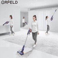 orfeld ev679 cordless vacuum cleaner 4 in 1 powerful suction 20kpa wireless vacuum 50 mins runtime home applliance cleaning