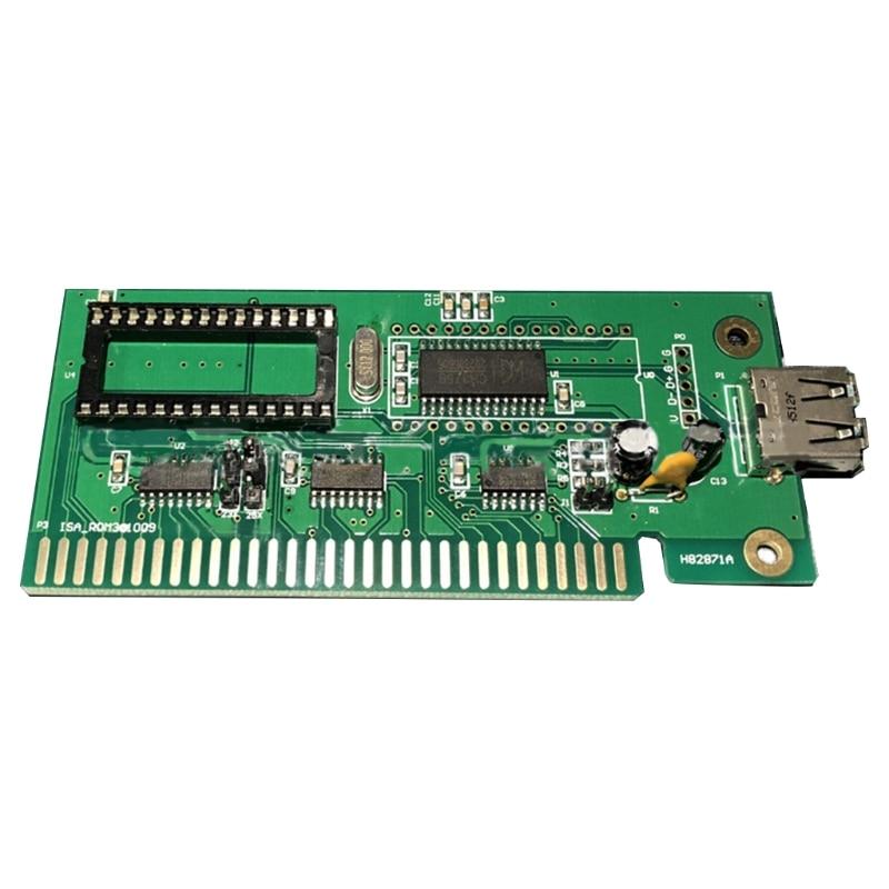 ISA إلى USB بطاقات التوسع الكمبيوتر بطاقة عيسى إلى U القرص واجهة ISA إلى USB بطاقة التحكم الصناعي LCD مهايئ لشاشة
