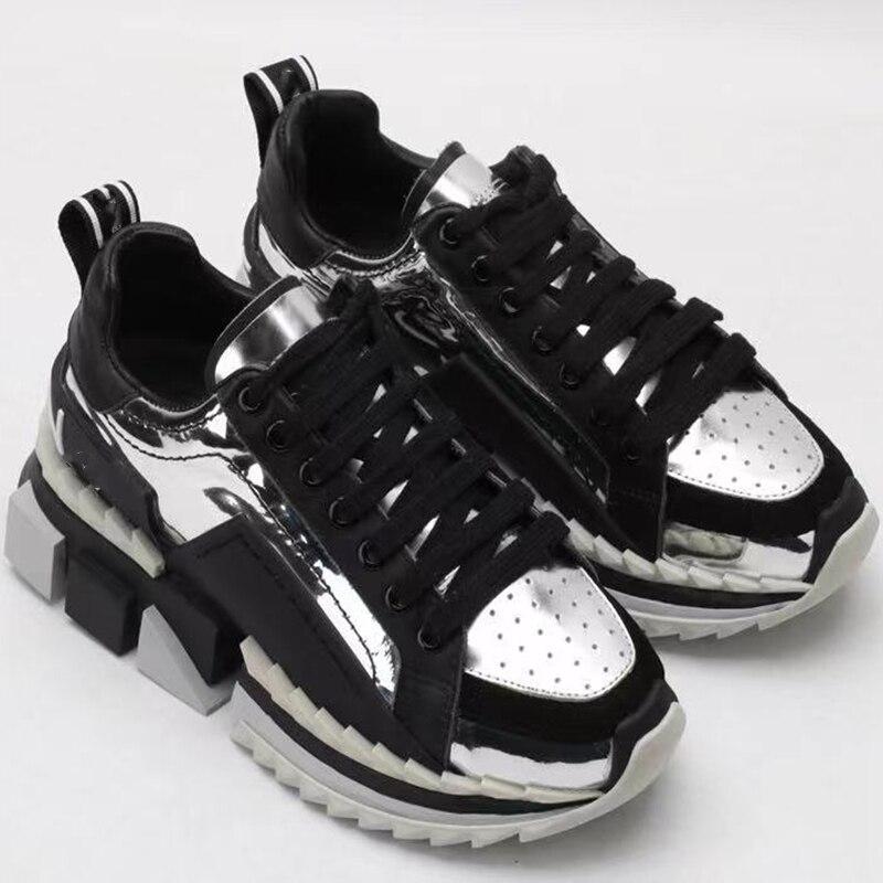 Повседневная модная спортивная обувь на толстой подошве для мужчин, уличная спортивная прогулочная обувь для мужчин, роскошные Брендовые п...