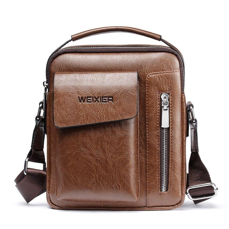 2020 мужские сумки-тоут, набор, модные мужские винтажные кожаные сумки-мессенджеры, мужские сумки через плечо, деловые сумки для мужчин