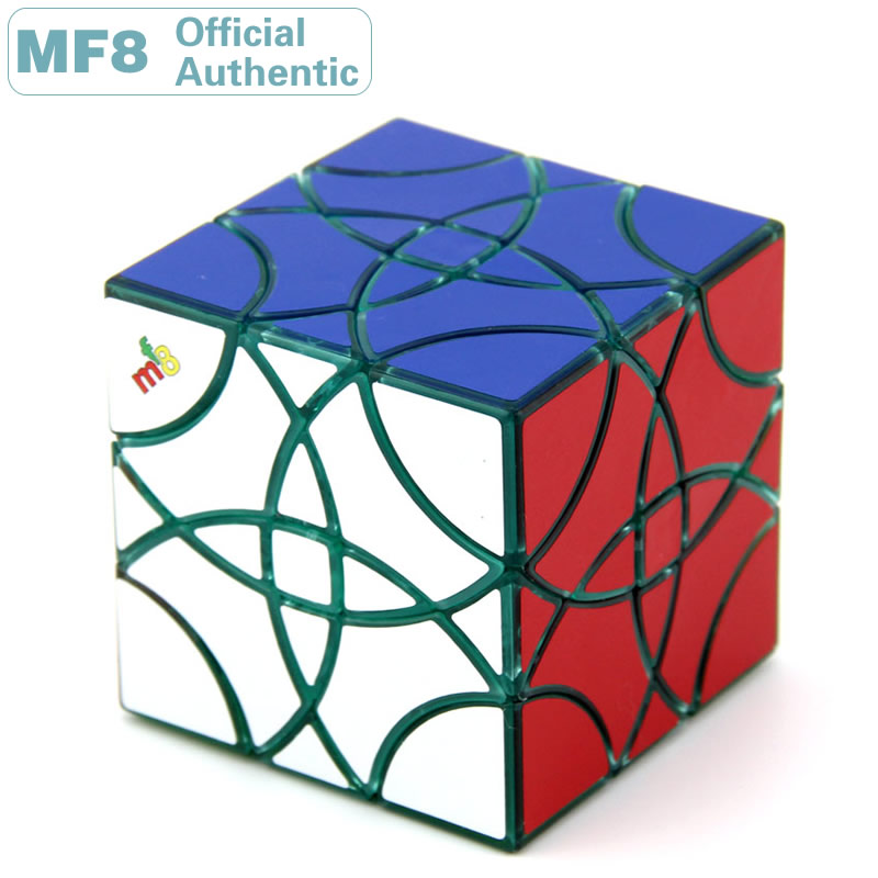 mf8 dodecahedron redbud magic cube bauhinia twisty puzzle speed rubiks cube educational toys gifts for kids children MF8 Curvy Copter Magic Cube Helicopter Petal Skewed Professional Speed Puzzle Twisty Brain Teaser Educational Toys For Children
