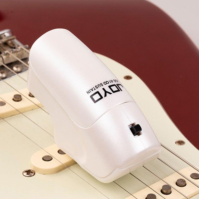 JOYO JGE-01 Wireless Guitar Infinite Sustainer, Handheld String Sustainer, Guitar Effect Pedal Trigger Guitar Accessories