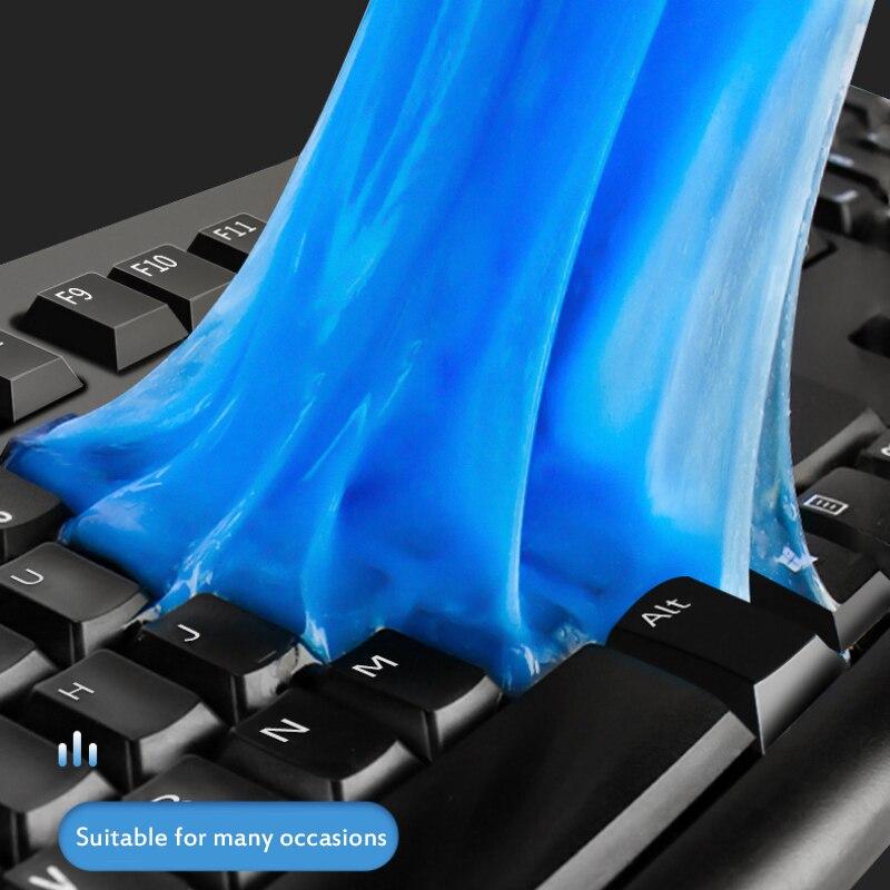 Гелевый очиститель клавиатуры, автомобильный очиститель, клеевая панель, воздуховод, приборная панель, очиститель ноутбука, инструмент для...