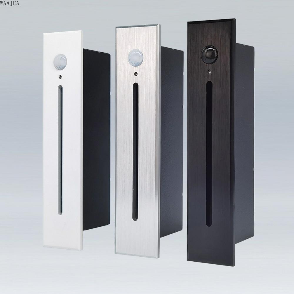 Smart Motion Sensor Night lighting Embedded Wall Light Radar Sense LED Stair Light, Kitchen Lamp Step, Corridor, Hallway Pathway