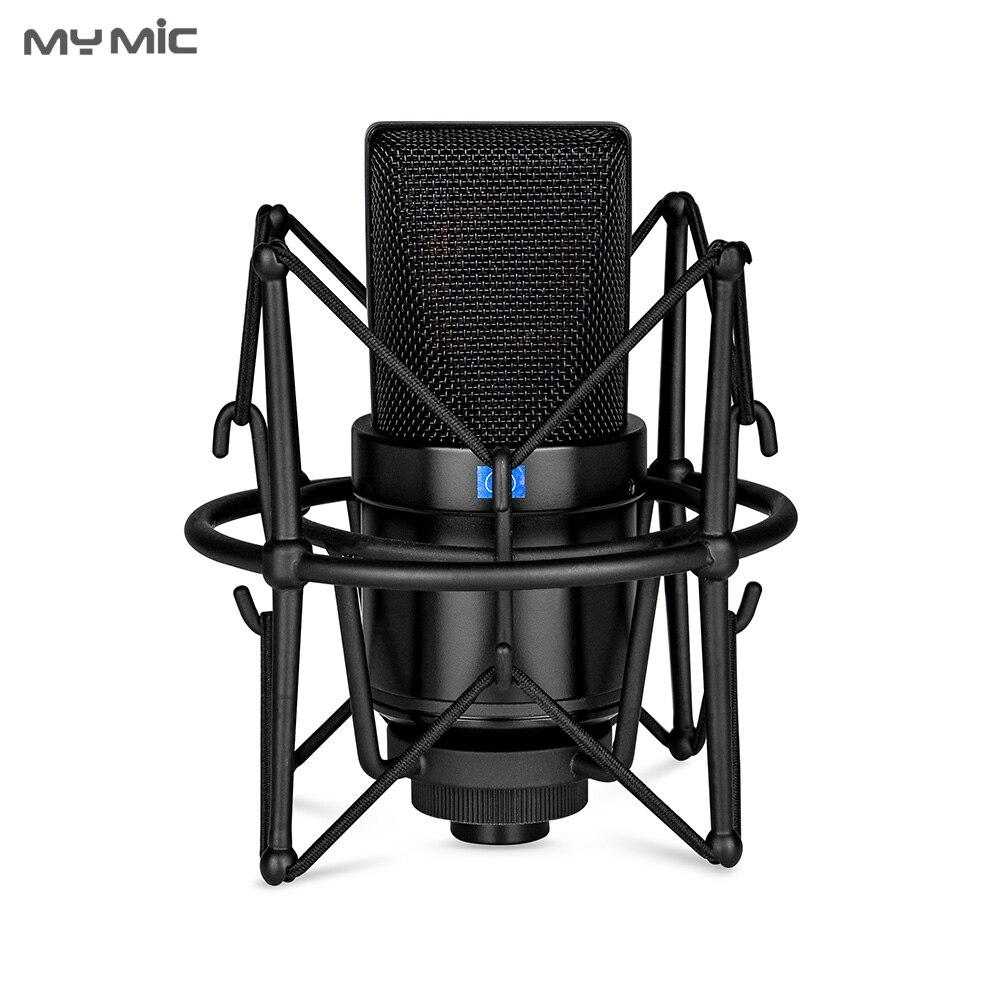 Professionl para Gravação de Voz de Jogos de Computador Microfone Grande Diafragma Condensador Studio Meu M3l