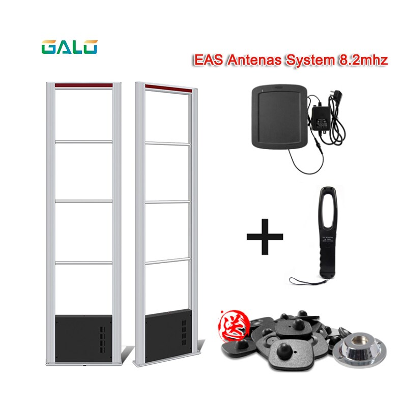 Aluminum Alloy Anti Thief EAS Security System R510 8.2MHz RF Antenna Alarm Gate Supermarket Shopping Mall Clothing Store Use