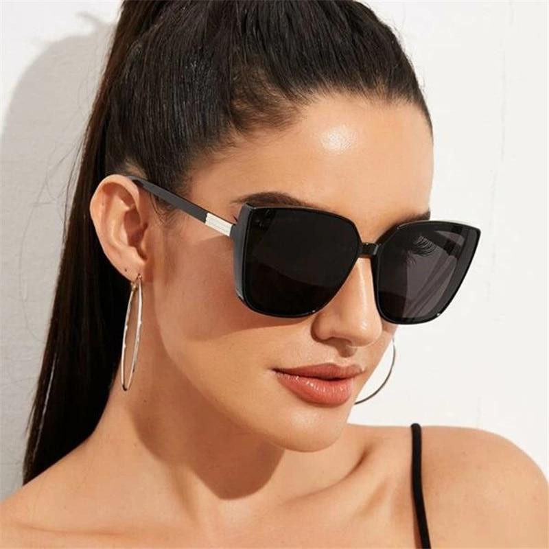 Oversized Sunglasses Women Retro Square Sunglasses Women High Quality Sun Glasses for Women Brand Oc