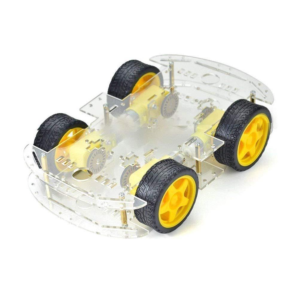 Дешевый 2/4WD робот-автомобиль, комплект