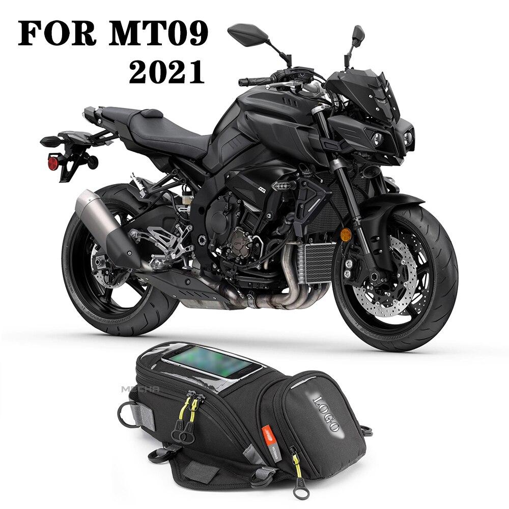 جديد لياماها mt 09 2021 تانك حقيبة الهاتف المحمول الملاحة النفط ثابت الأشرطة حقائب الكتف ل GIVI MT09