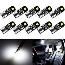 Phares de coffre-fort de voiture   10x T10 W5W, feux de Parking, Canbus anti-erreur, ampoule pour Mercedes W203 W205 W204 W211 W212