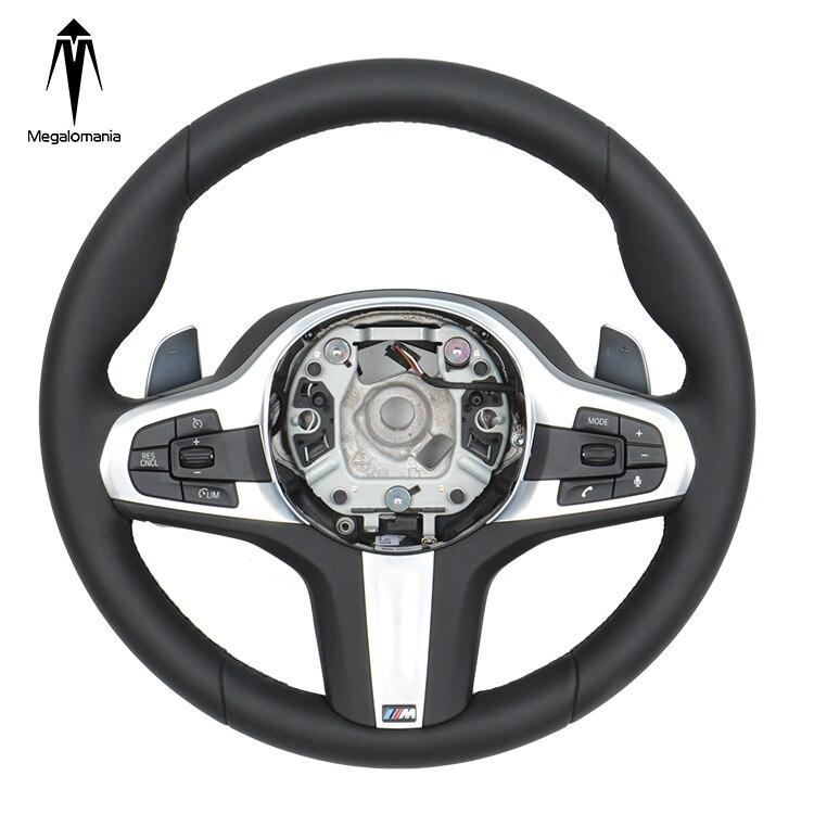 Para bm w 2020 g30 g20 g38 g12 g05 personalizado alcantara volante de fibra carbono volante de carbono pc
