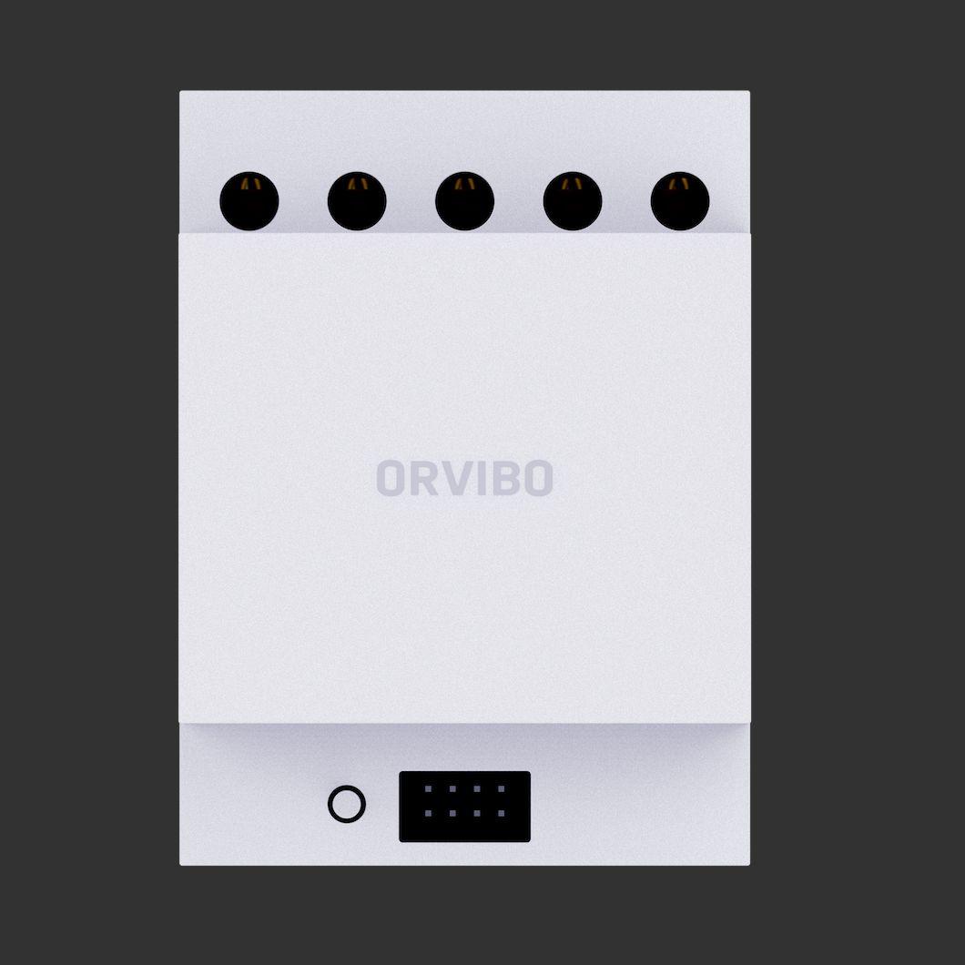 محول ORVIBO محايد في الجدار يحول مفاتيح الخط المحايدة السلكية التقليدية لتكون ذكية زيجبي بواسطة ORVIBO زيجبي Hub